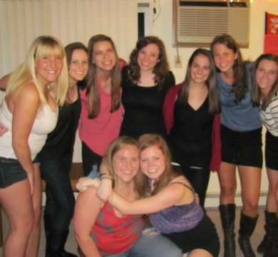 From Freshman year to Senior year these girls have always had my back, 9B forever!