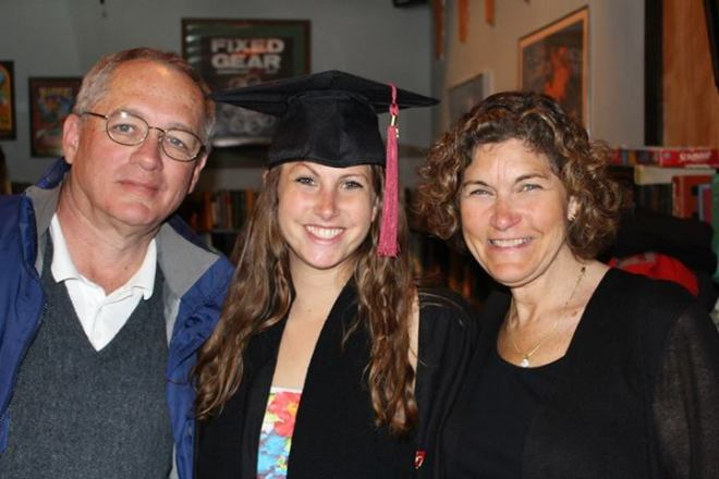 Graduation Day with my parents, I love you both so much and wouldn't have the success I do without you!