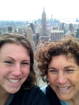 And maybe even take a trip with just your kids. You too can take selfies on top of Rockefeller.