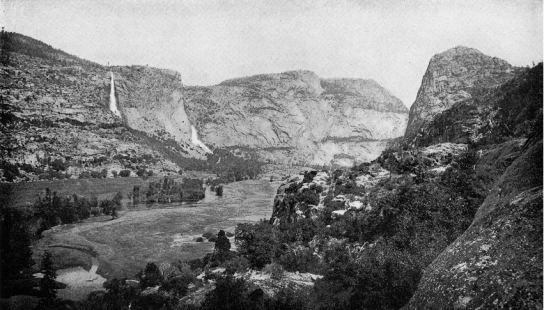 Photo from the Restore Hetch Hetchy Project. Taken 1908 by Isaiah West Tabor.
